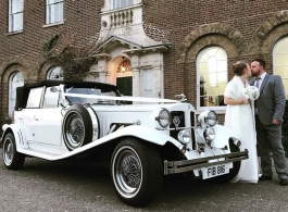 Beauford wedding car for hire in Chelsea
